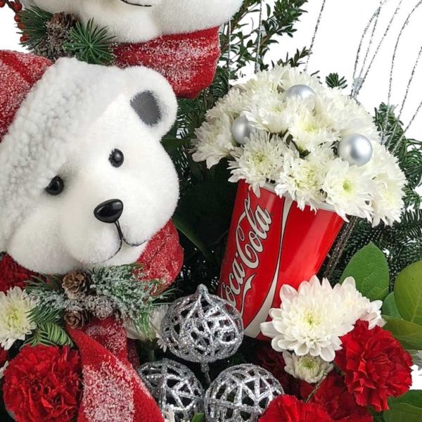 Beary Christmas Bouquet