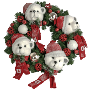 Beary Christmas Wreath