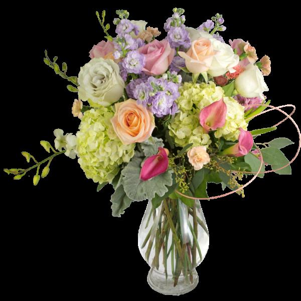 Romantic Pastels Bouquet