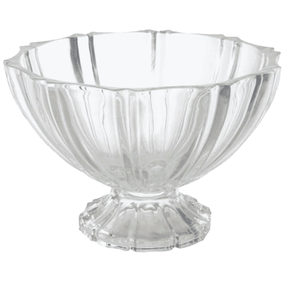 "10"" Crystal Compote"
