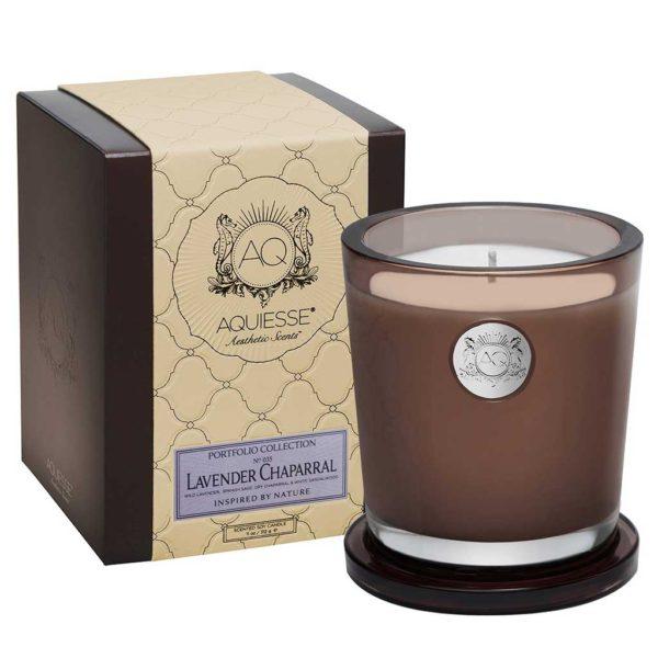 Aquiesse Large Candle - Lavender Chaparral
