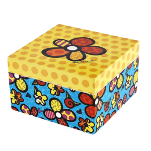 Britto Keepsake Box - Flowers