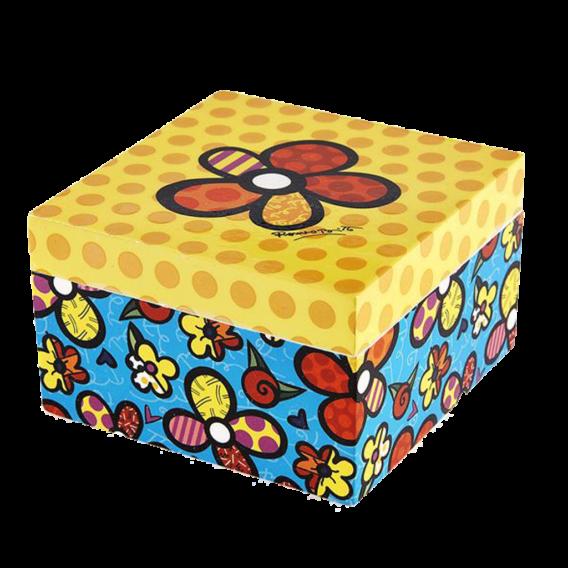 Britto Keepsake Box - Flowers