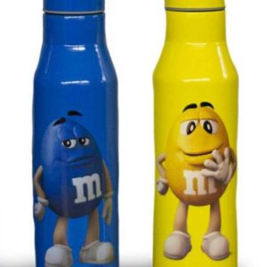 M&M Character Stainless Steel Water Bottle