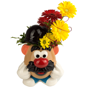 Mr. Potato Head Cookie Jar Bouquet
