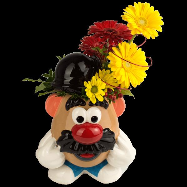 Mr. Potato Head Cookie Jar Bouquet