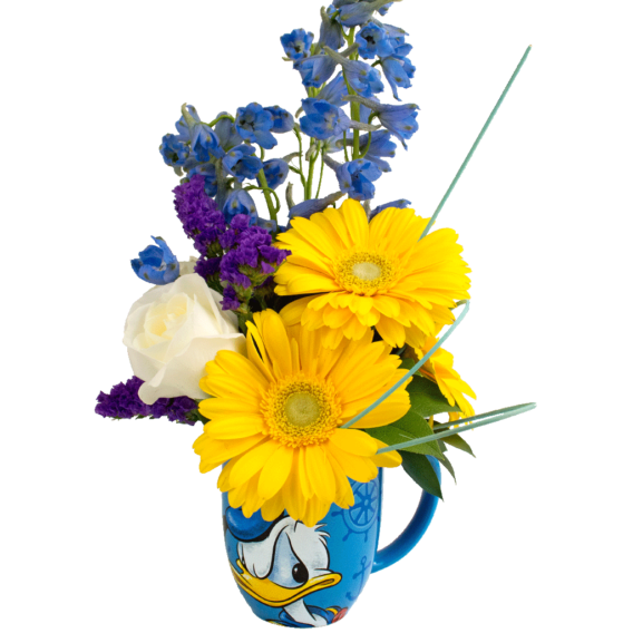 Sailor Donald Duck Mug Bouquet