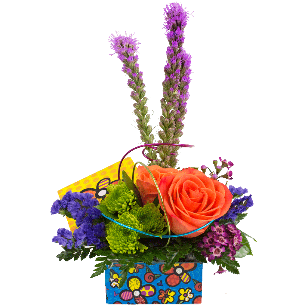 Britto Flower Keepsake Box Bouquet Flowers Disney Flowers Karin S Florist