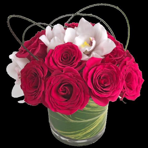 Raspberry Sorbet Bouquet