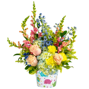 A Big Welcome Little One Bouquet