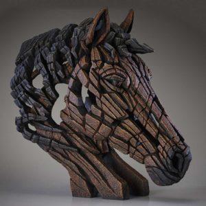 Horse Bust Sculpture