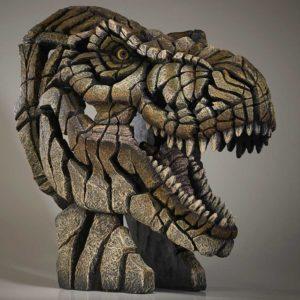 T-Rex Bust Sculpture