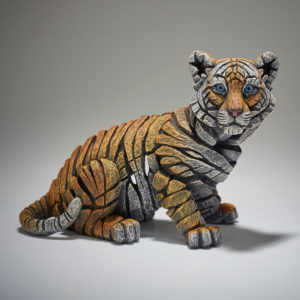 Tiger Cub Sculpture
