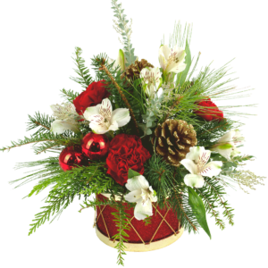 Holiday Drum Bouquet