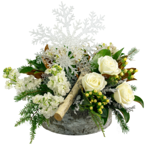 Snowflake and Sparkles Bouquet