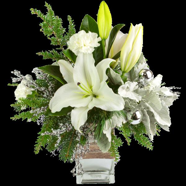 Snowy White Bouquet