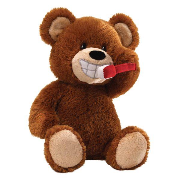 Gund Brush Your Teeth Animated Bear
