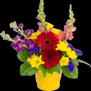 A Colorful Summer Bouquet