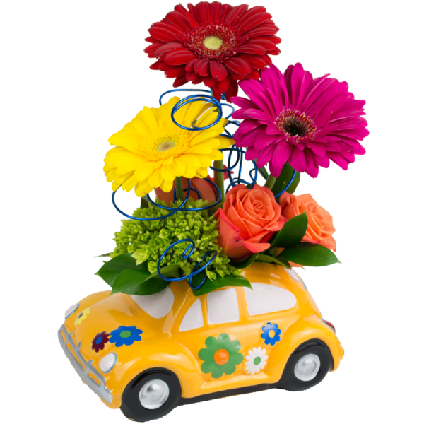 Flower Power Bug Bouquet