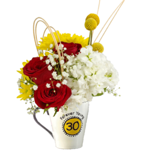 Forever Young 30 Birthday Bouquet