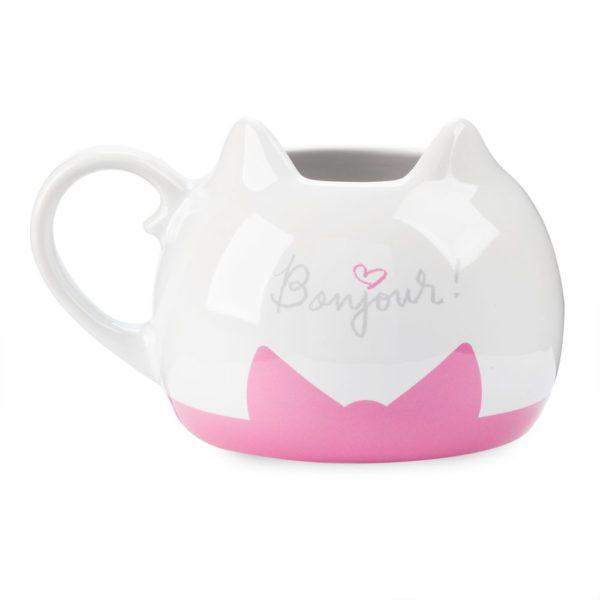 Aristocats Purrfectly Pink Flower Mug