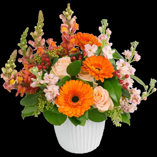 Peaches & Cream Bouquet