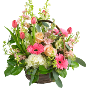 Spring Basket Bouquet