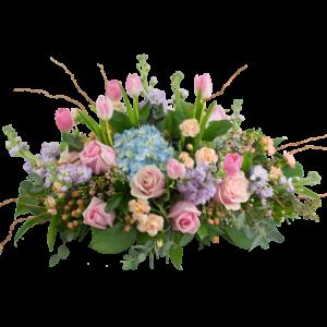 Spring Pastel Centerpiece