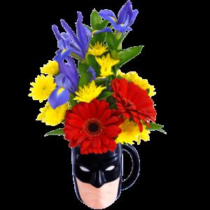 Batman Flower Mug