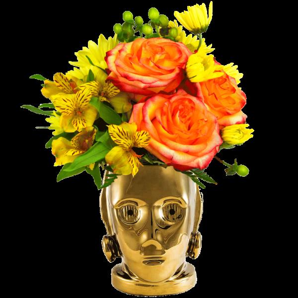 Star Wars C3PO Bouquet
