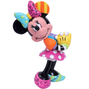 Blushing Minnie Mouse Miniature Figurine