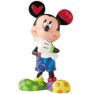 Mickey Mouse with Heart Figurine