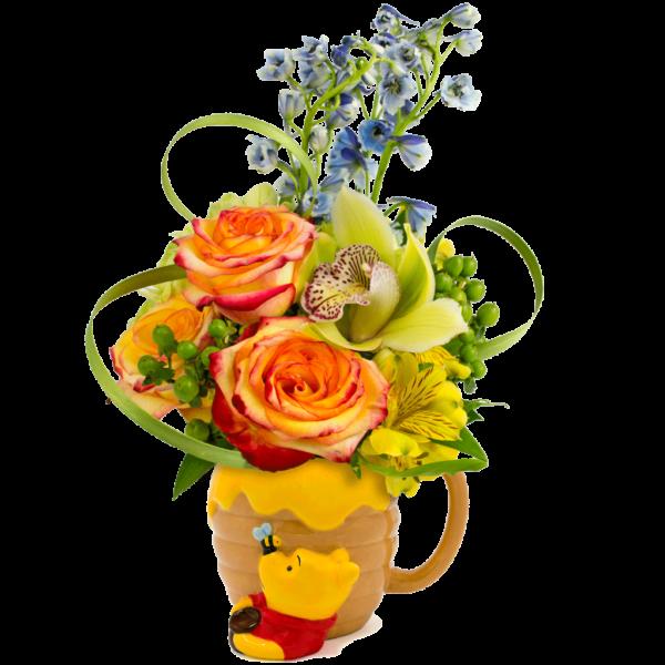 Winnie the Pooh & the Honey Pot Bouquet
