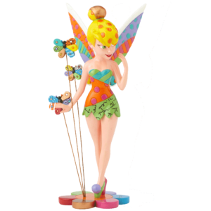 Tinker Bell and Butterflies by Britto