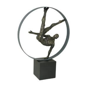 Gymnast Circle Sculpture