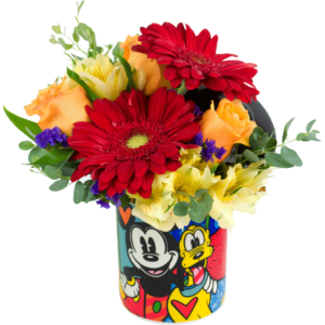 Mickey and His Pal Bouquet