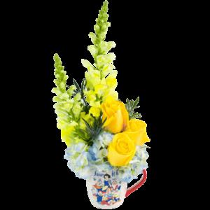 Snow White Flower Mug
