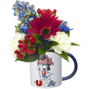 Mickey Mouse USA Flower Mug