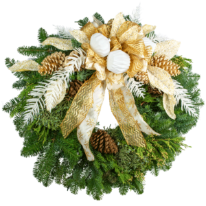 Holiday Winter White Wreath