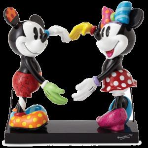 Mickey & Minnie Love Figurine