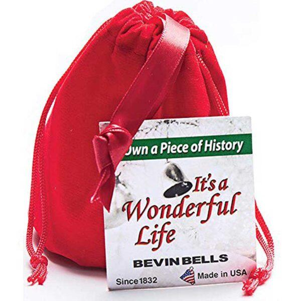 It's A Wonderful Life Brass Bell Ornament
