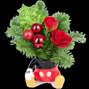 A Little Mickey Christmas Bouquet