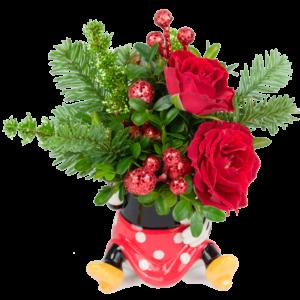 A Little Minnie Christmas Bouquet