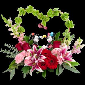 Mickey & Minnie in Love Bouquet