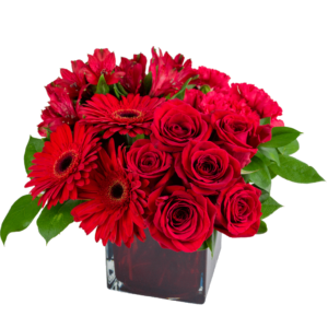 Romance in Red Bouquet