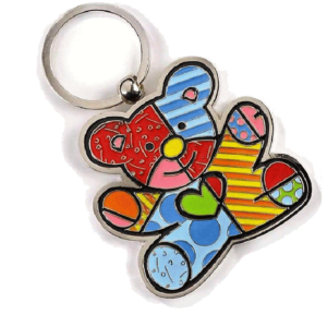 Britto Bear Keychain