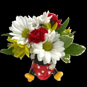 """""""Mini"""" Minnie Mouse Bouquet"""
