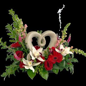 Shimmering Heart Bouquet