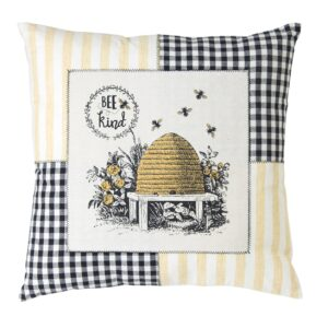 """Bee Kind"" Pillow"