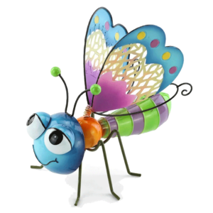 Happy Blue Butterfly